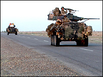 American tank in Iraq