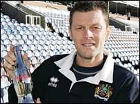 Burnley manager Steve Cotterill