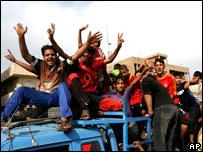 Celebraciones en Irak