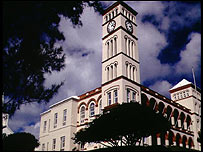 Parliament building, Hamilton, Bermuda.