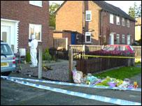 Home where children were found