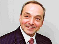Mark James, chief executive of Carmarthenshire Council