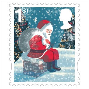first class stamp image royal mail - Christmas Stamp
