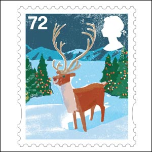 The 72p stamp (Image: Royal Mail)