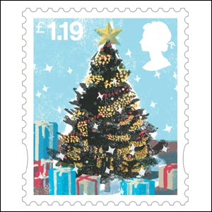 The 119p stamp (Image: Royal Mail)