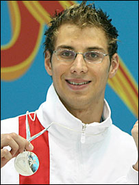 British swimmer Darren Mew