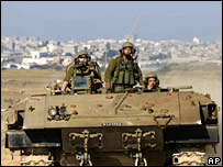 Israeli armoured vehicle
