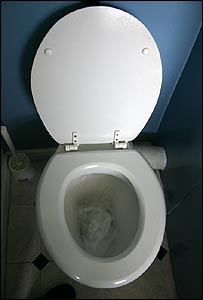 A generic picture of a toilet