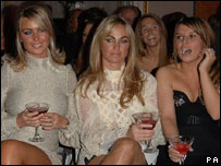 Alex Curran, Kelly Ellison and Coleen McLoughlin