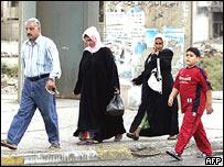 Las calles de Bagdad empezaron a recuperar la normalidad.