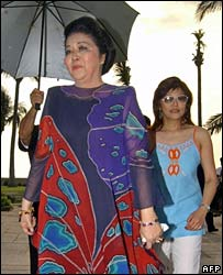 Imelda and Imee Marcos