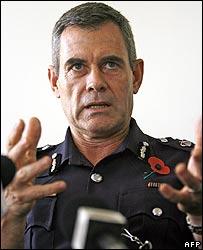 Fiji Police Commander Andrew Hughes
