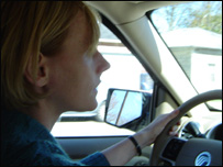 Gillian driving