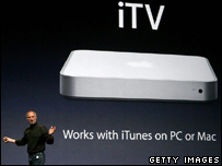 Apple's Steve Jobs announces the iTV
