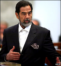 Saddam Hussein on 7 November 2006