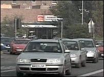 Exeter traffic