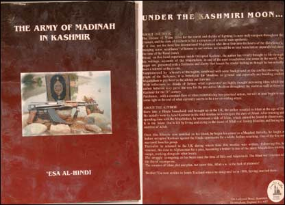 Dhiren Barot's book, the Army of Madinah in Kashmir