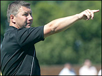 Colchester boss Geraint Williams