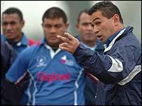 Pacific Islanders coach Pat Lam