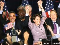 Demócratas celebran en EE.UU.