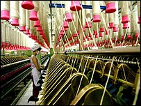 Chinese textiles factory