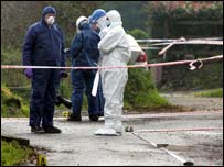 A forensic examination of the scene has been carried out