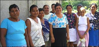Prestatarias de la Fundación Adelante, institución de microcrédito en Honduras (Gentileza: Fundación Adelante)