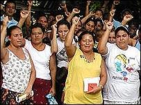 Prestatarias de la Fundaci�n Adelante, instituci�n de microcr�dito en Honduras (Gentileza: Fundaci�n Adelante)