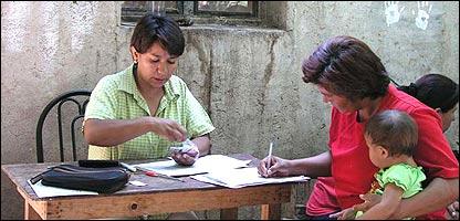 Prestatarias de Grameen de la Frontera (Gentileza: Grameen de la Frontera)