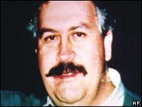 Pablo Escobar, narcotraficante fallecido en 1993.
