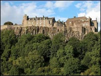Stirling Castle. Pic by Undiscovered Scotland.