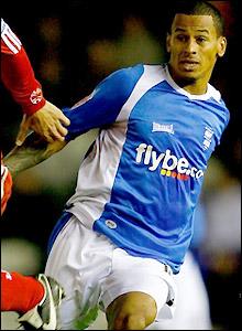 Birmingham striker DJ Campbell