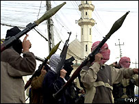 Iraqi insurgents - file photo