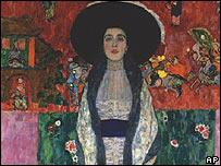 Klimt's Adele Bloch-Bauer II (detail)