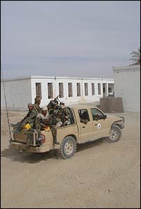 Afghan Police Transport