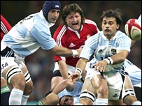 The Pumas drew with the British and Irish Lions in 2005