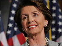 Democrat Nancy Pelosi, set to become the House speaker