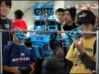 Toy robots, AP