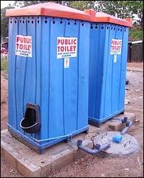 Public toilets in Lagos, Nigeria
