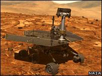 Explorador robot Opportunity.