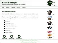 Ethical Insight website