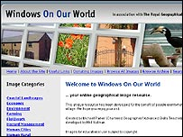Windows On Our World website
