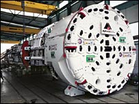 Tunnel boring machine, Eliza Jane