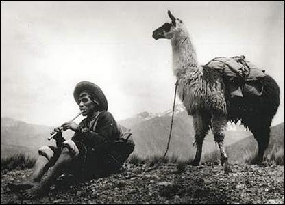 Martín Chambi, Tristeza andina, La Raya, Cuzco-Puno, 1933