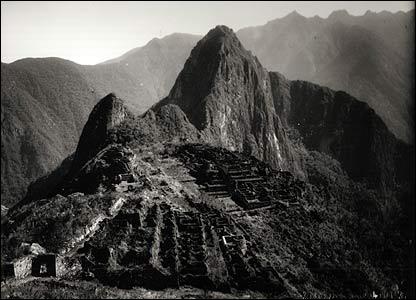 Mart�n Chambi, Ciudadela de Machu Picchu, 1925