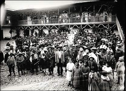Mart�n Chambi, Fiesta en la hacienda La Angostura, Cuzco, 1929