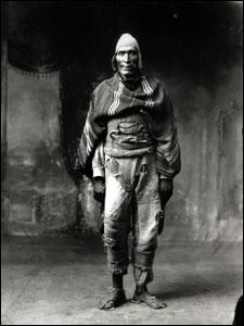 Martín Chambi, Gigante de Paruro, Juan de la Cruz Sihuana, Cuzco, 1925
