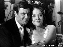 George Lazenby and Diana Rigg in On Her Majesty's Secret Service