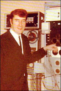 Joe Meek (photo courtesy David Peters, Joe Meek Appreciation Society)