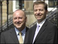 Cliff Dunn and Paul Murphy (Picture from Personal Estate Agents)